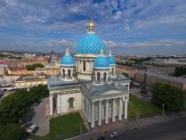 Небесный Петербург. Троицкий собор. Серия.
