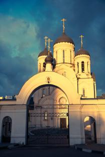Храм Иконы Божьей Матери Утоли Моя Печали