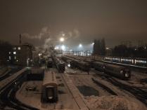 Зимние поезда