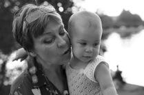 Бабушка и внучка...