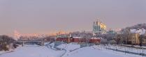 Зимний вечер в Смоленске