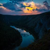закат над рекой Белая