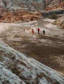 Прогулка по марсианскому пейзажу