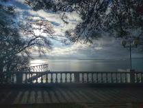 Геленджикский зимний пейзаж