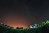 Домик под звездами