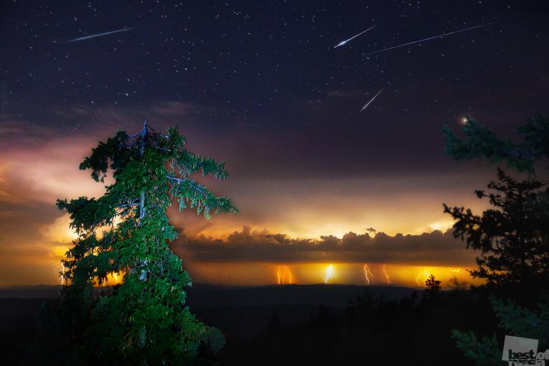 Метеорная ночь