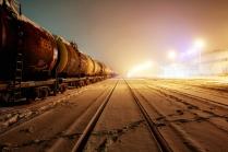 Север. Зима. Вокзал.