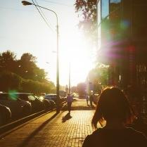 Солнце сияет перед своим уходом
