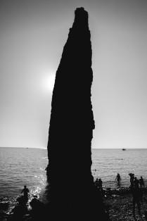 Тень скалы