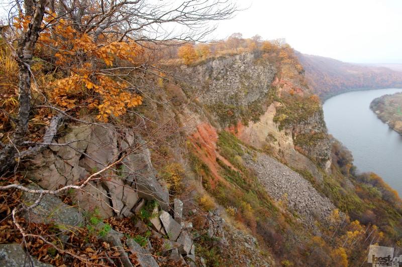 Жерло древнего Барановского вулкана под Уссурийском.