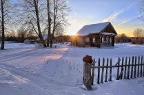 Уютный закат