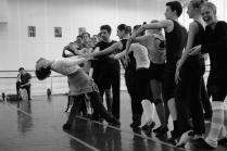 Репетиция балета.