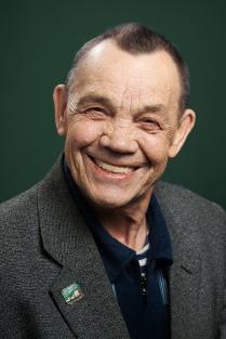 Портрет веселого человека