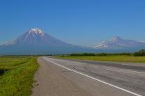 Два брата вулкана - Корякский и Авачинский