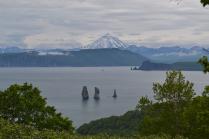Скала Три брата и Вилючинский вулкан