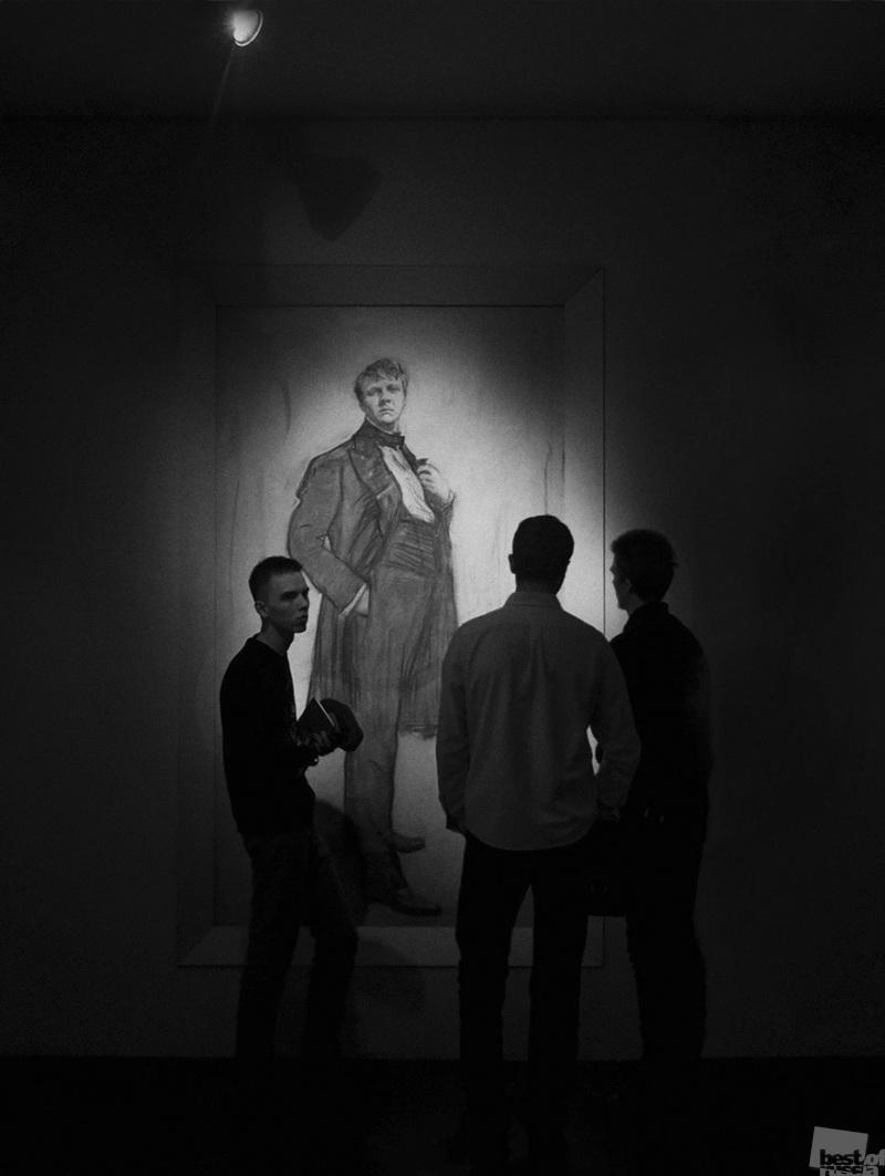 На выставке В.Серова