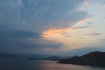 Море, небо,закат