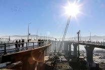 Открытие автомобильного моста
