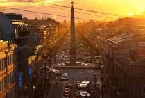 Закат над Невским
