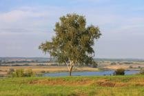 Теплый августовский вечер в селе Константиново