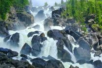 Водопад Учар на реке Чульча