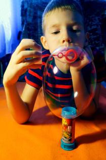 радость в пузыре