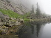 Туманное утро в Ергаках