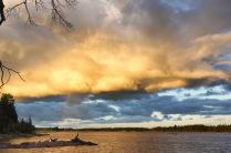 На озере Сенное.