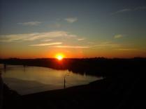 Закат на одной из Тверских крыш
