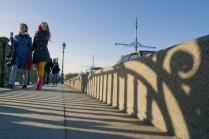 Весна на Троицком мосту