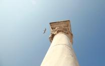 Капитель колонны ранневизантийского храма