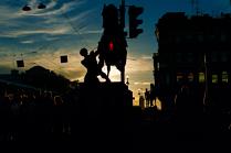мгновение города