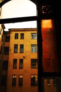 Старый витраж на улице Марата, Санкт-Петербург