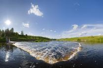 Водопад на реке Тосне