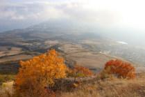 Осень на Демерджи