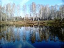 Осень в Комаровке. Зазеркалье.