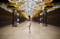 Балерина в метро