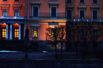 Вечер во дворце