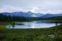 Озеро Киделю. Алтай.