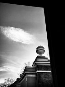 Этюд с облаком на плоскости
