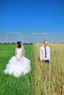 Свадебный кадр.