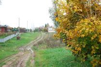 осень... деревня... бездорожье...