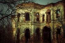 Руины Усадьбы Гостилицы
