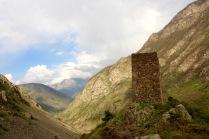 Сторожевая башня в Северной Осетии