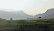 Пейзаж в окрестностях аула Чох