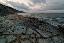 Утренние фактуры и море