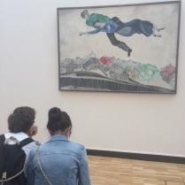Персонажи Шагала в реальности
