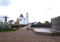Памятник С.Есенину в Частоозерье