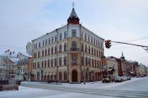 улицы зимней Казани