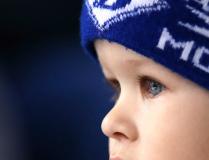 Отражение стадиона в глазах юного болельщика